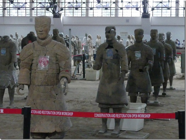 Xi'an - Armée enterrée (32)