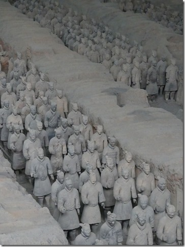 Xi'an - Armée enterrée (3)