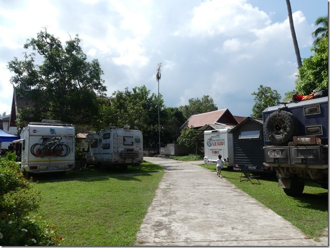 Louang Prabang - bivouac du temple (3)