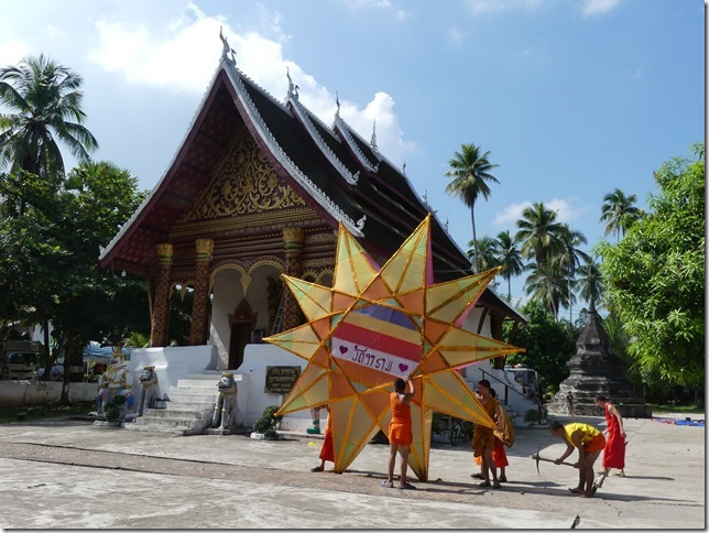 Louang Prabang - bivouac du temple (7)