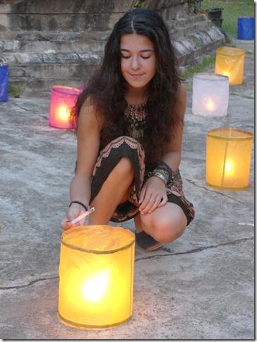 Louang Prabang - fête des lumières (22)