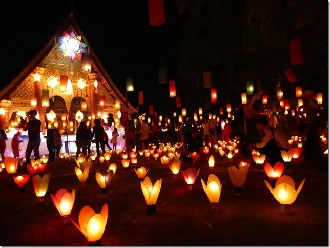 Louang Prabang - fête des lumières (88)