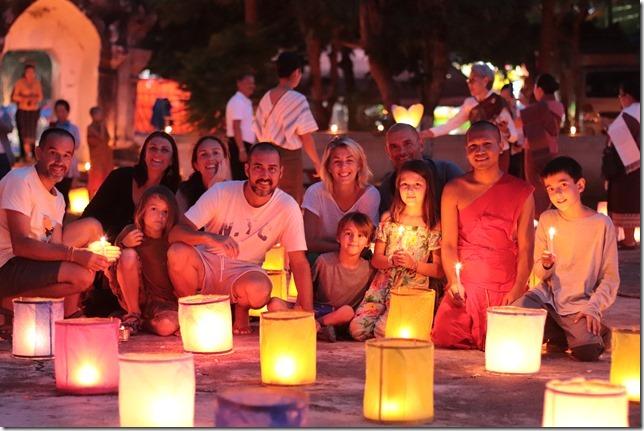 Louang Prabang - fête des lumières