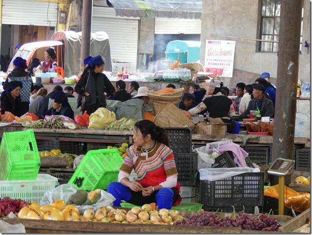 Rizières en terrasse Yuanyang - marché (21)