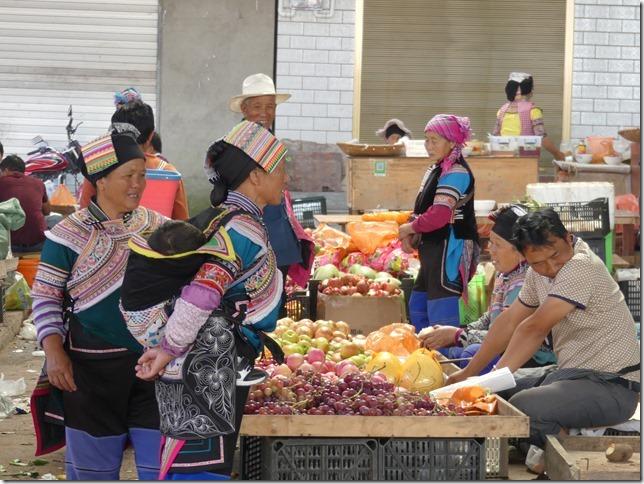 Rizières en terrasse Yuanyang - marché (25)