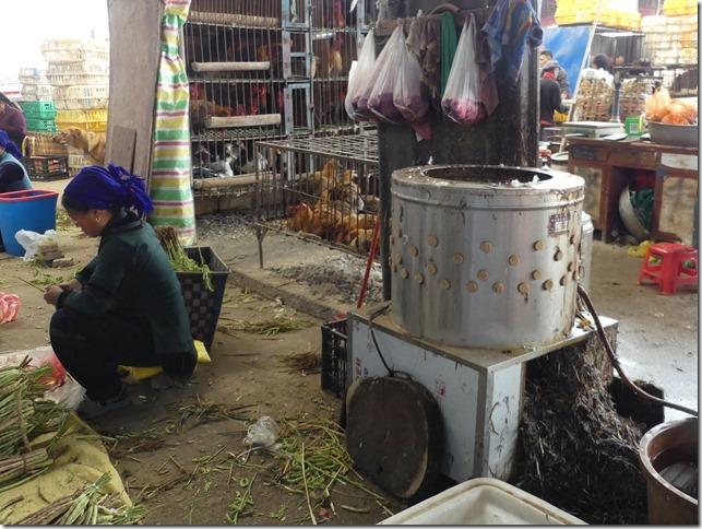 Rizières en terrasse Yuanyang - marché (29)