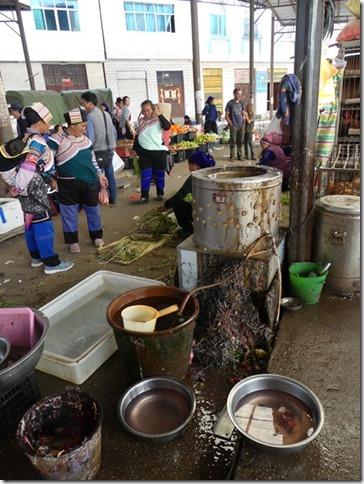 Rizières en terrasse Yuanyang - marché (31)
