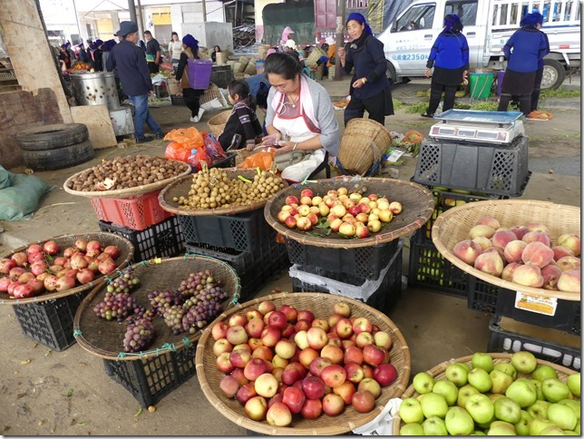 Rizières en terrasse Yuanyang - marché (36)
