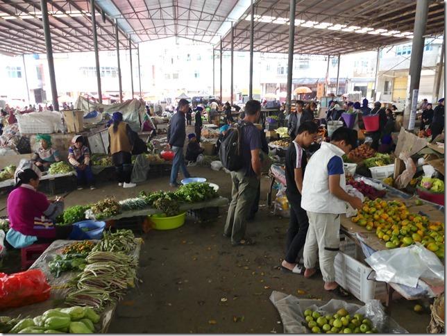 Rizières en terrasse Yuanyang - marché (37)