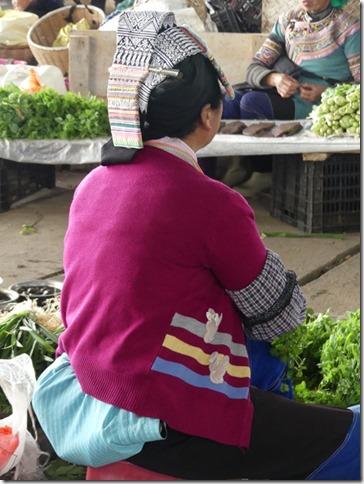 Rizières en terrasse Yuanyang - marché (40)