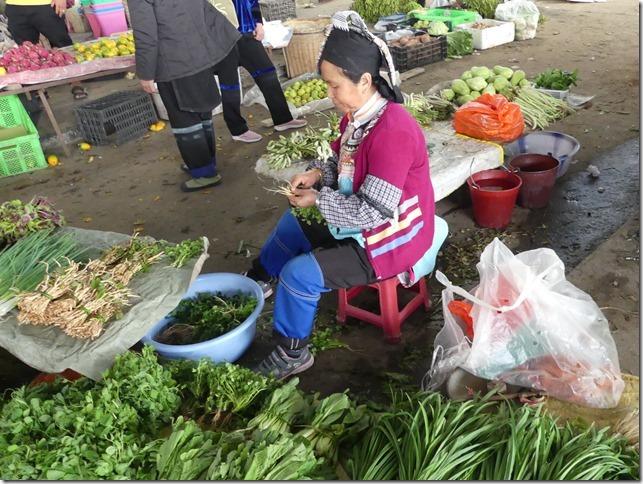 Rizières en terrasse Yuanyang - marché (42)