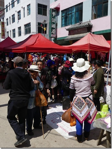 Rizières en terrasse Yuanyang - marché (4)