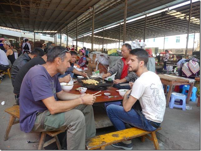 Rizières en terrasse Yuanyang - marché (50)