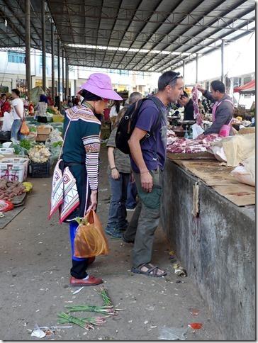 Rizières en terrasse Yuanyang - marché (8)