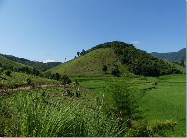 Route Louang Prabang- Vang Vieng (1)