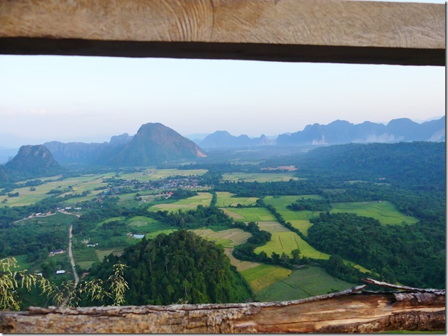 Vang Vieng - point de vue de Nam Xay (13)