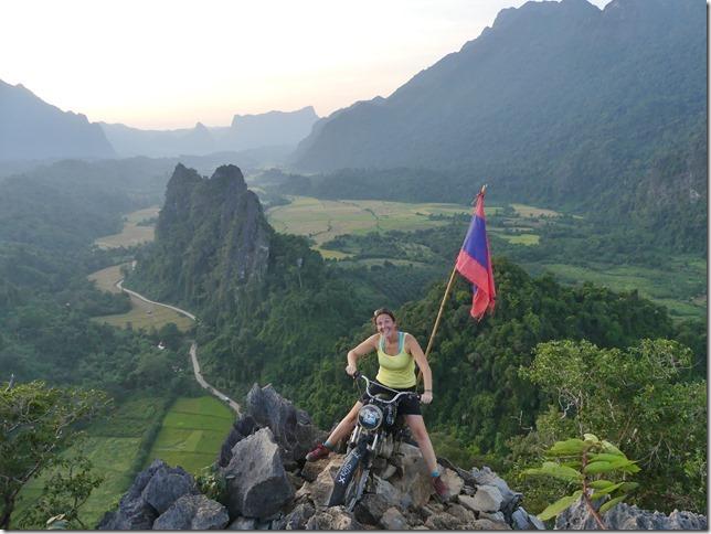 Vang Vieng - point de vue de Nam Xay (15)