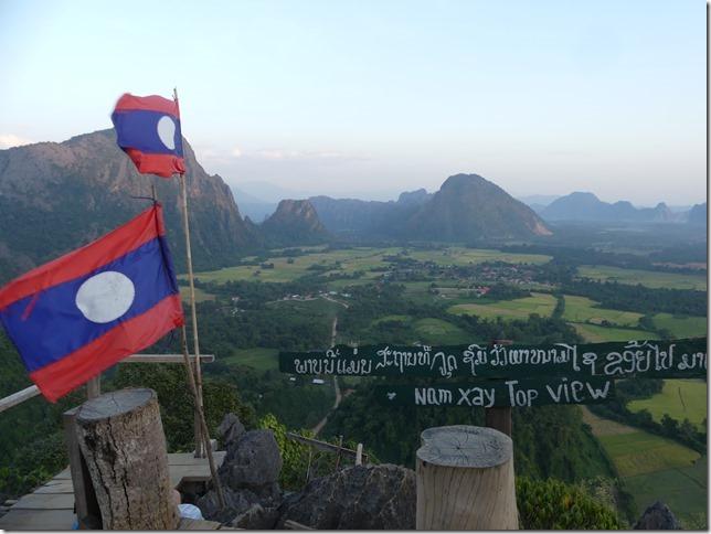 Vang Vieng - point de vue de Nam Xay (5)