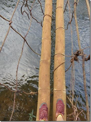 Plateau des Boloven - pont bambou cascade E-Tu (3)