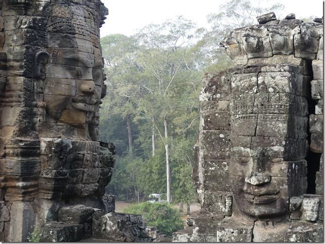 Angkor Tom - Temple du Bayon (19)