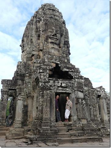 Angkor Tom - Temple du Bayon (35)