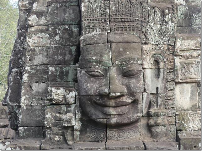 Angkor Tom - Temple du Bayon (37)