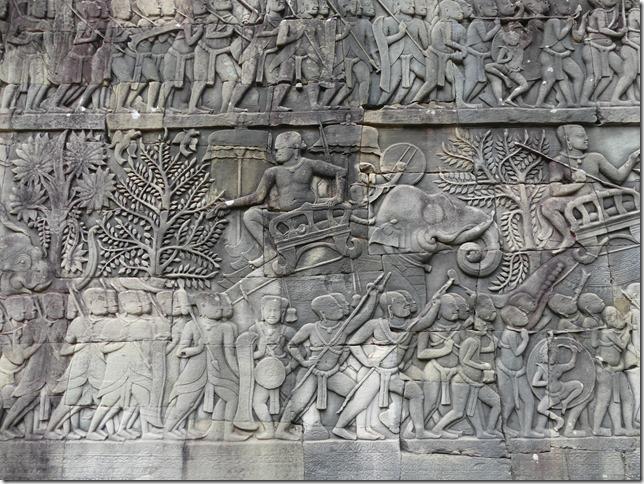 Angkor Tom - Temple du Bayon (43)