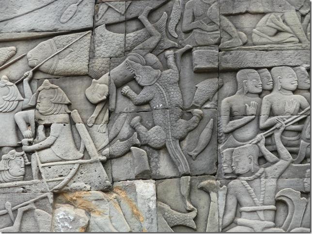 Angkor Tom - Temple du Bayon (45)