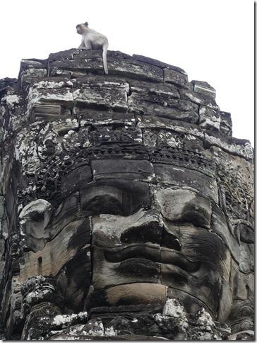 Angkor Tom - Temple du Bayon (53)