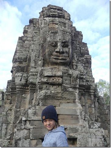 Angkor Tom - Temple du Bayon (6)