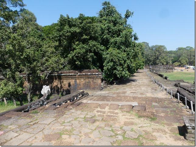 Angkor Tom - Terrasse des éléphants (10)