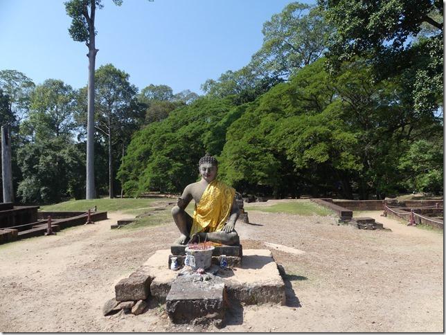 Angkor Tom - Terrasse du roi Lépreux (2)