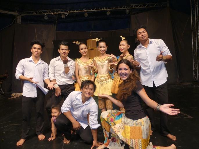 Battambang - école des arts Phare Ponleu Selpak - spectacle (42)