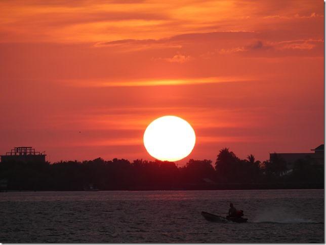 Dernier coucher de soleil Cambodge (4)