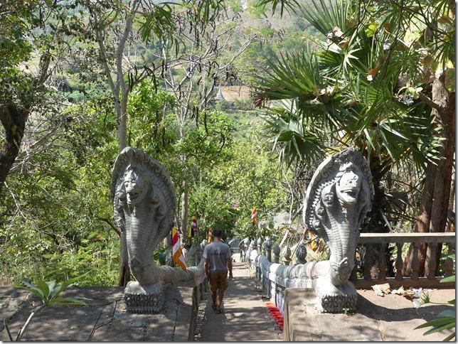 Kompong Cham - Temples aux singes (72)