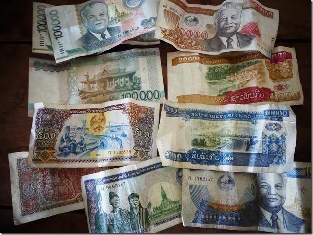 Monnaie Laos- kip (2)