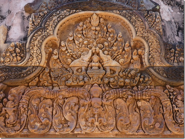 Temples d'Angkor - Banteay Srei (18)