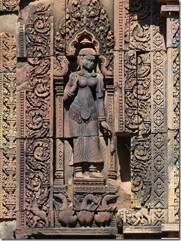 Temples d'Angkor - Banteay Srei (35)