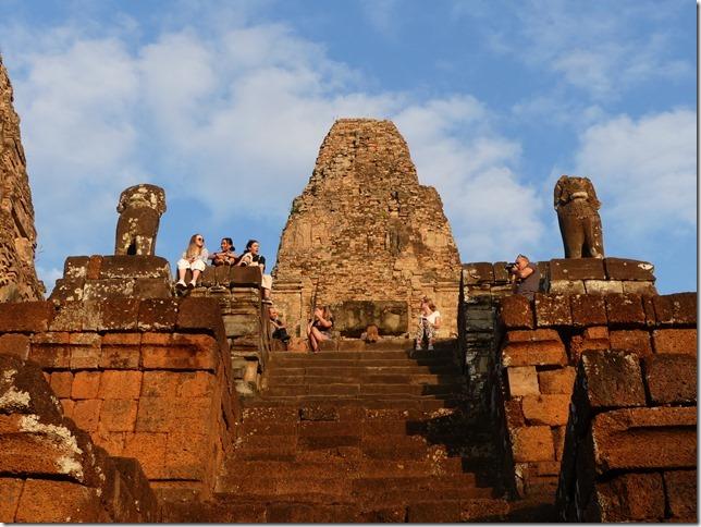 Temples d'Angkor - coucher de soleil au Pre Rup (10)