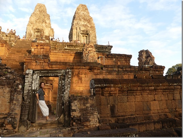 Temples d'Angkor - coucher de soleil au Pre Rup (14)