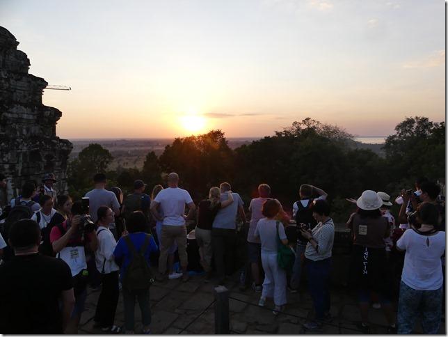 Temples d'Angkor - Phnom Bakheng - coucher de soleil (14)