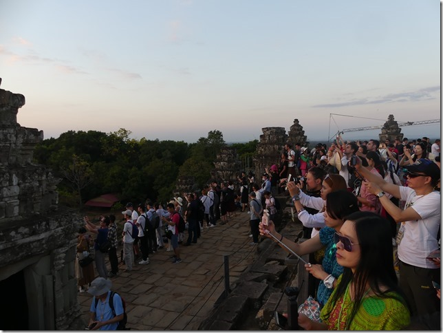 Temples d'Angkor - Phnom Bakheng - coucher de soleil (18)