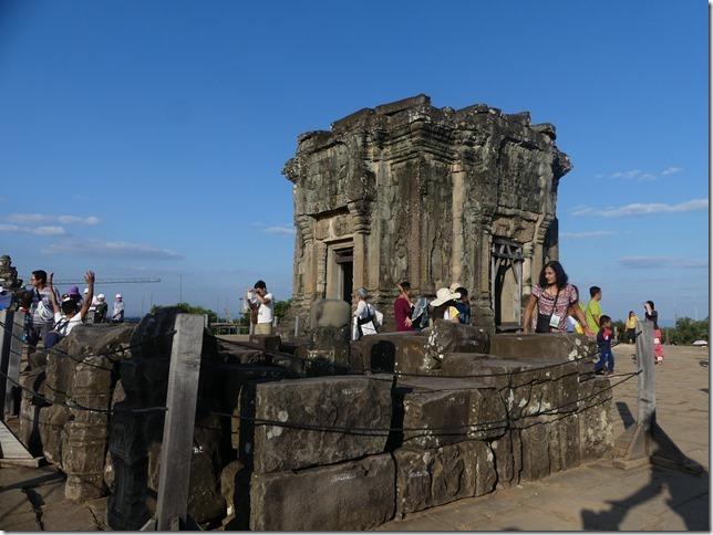 Temples d'Angkor - Phnom Bakheng - coucher de soleil (1)