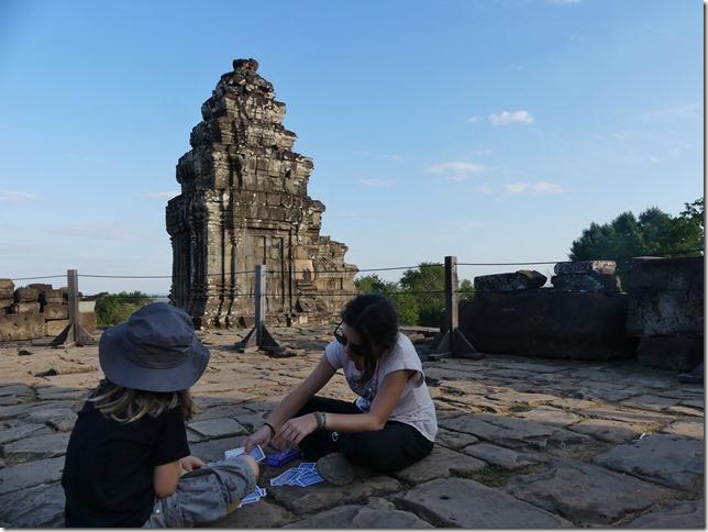Temples d'Angkor - Phnom Bakheng - coucher de soleil (5)