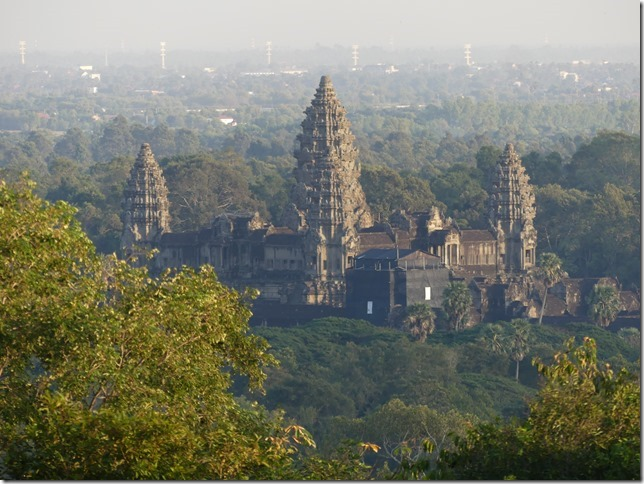 Temples d'Angkor - Phnom Bakheng - coucher de soleil (7)
