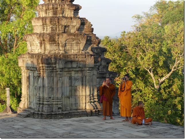 Temples d'Angkor - Phnom Bakheng - coucher de soleil (8)