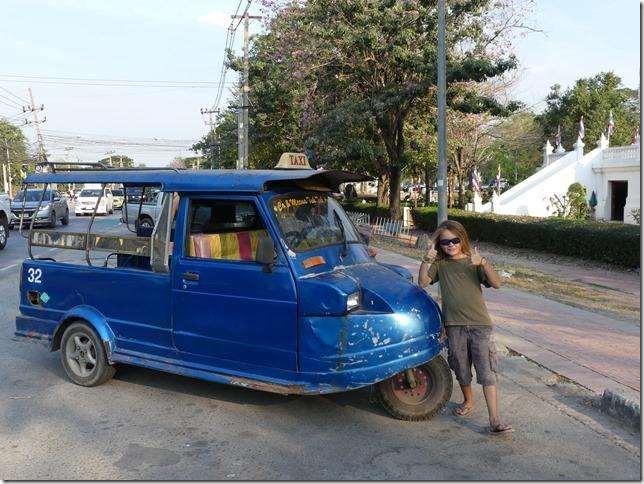 Ayutthaya - tuk-tuk (1)