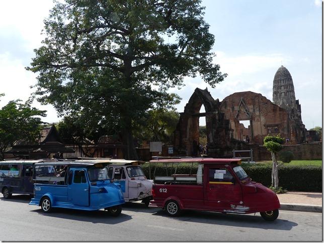 Ayutthaya - tuk-tuk (3)