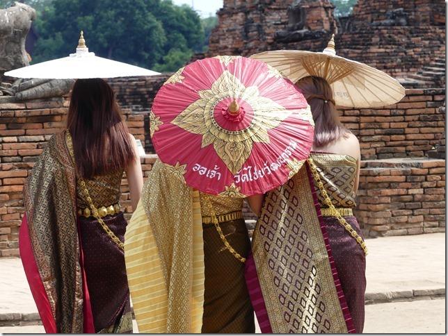 Ayyuthaya - Temples - costumes (7)