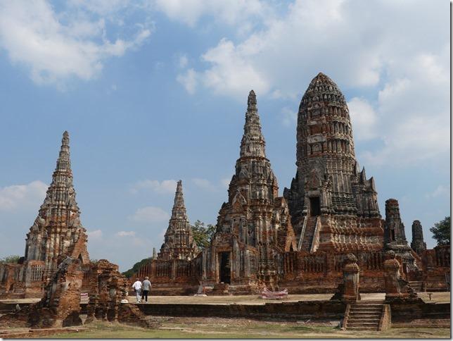 Ayyuthaya - Temples - Wat Chaiwatthanaram (28)